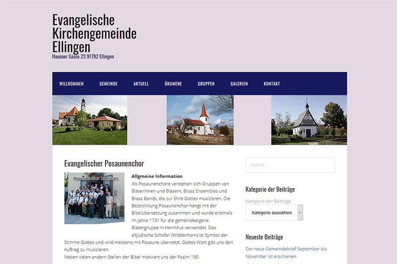 Posaunenchor Ellingen-Hörlbach